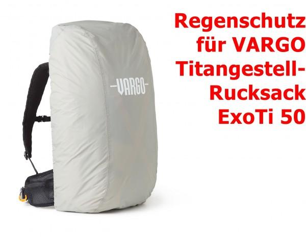 Regenschutz für Vargo Titangestell-Rucksack ExoTi 50