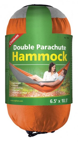 Coghlans Hängematte Parachute - double orange