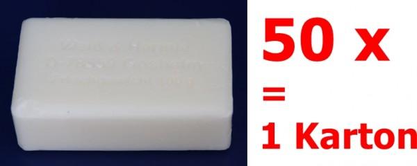 Weiss und Hermle Kernseife rein 50 x 100 g