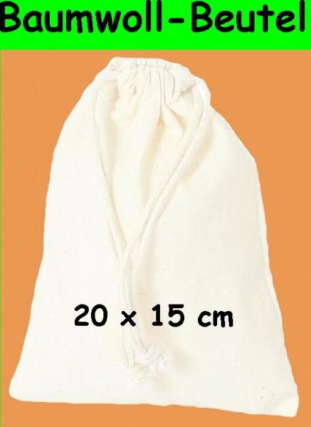 BARTL Baumwoll-Beutel 20 x 15 cm