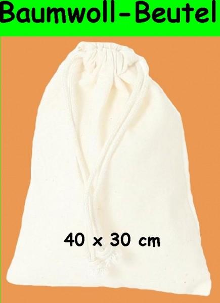 BARTL Baumwoll-Beutel 40 x 30 cm