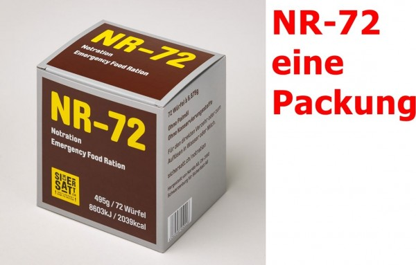 SicherSatt Notration NR-72 ... 1 x 495 g = eine Packung