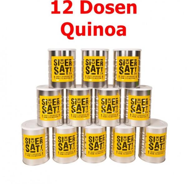 SicherSatt Quinoa 12 Dosen = 1 Karton