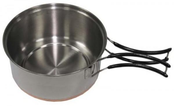 Extra großer Topf mit Deckel für Firepot Outdoor Kocher