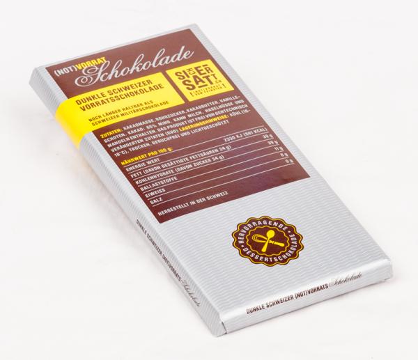 SicherSatt Notvorrat Schokolade 1 x 100 g