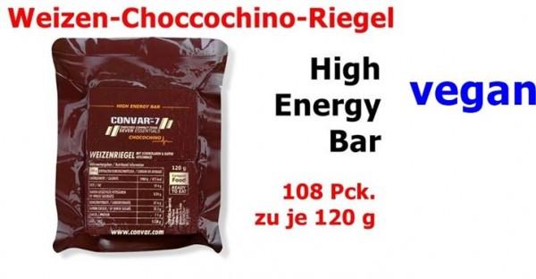 CONVAR-7 High Energy Bar - CHOCOCHINO 108 x 120 g = 1 Karton