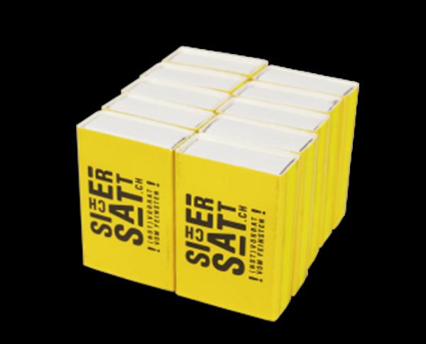 SicherSatt Streichhölzer (10 Schachteln)