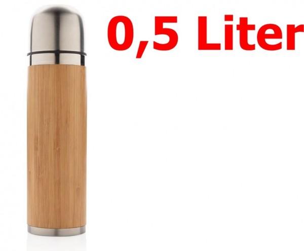 origin OUTDOORS Isolierflasche bambus