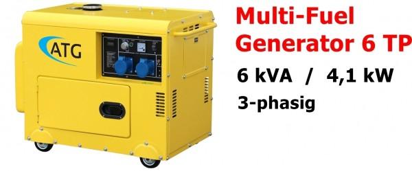 ATG Multifuel 6TP Stromgenerator ... drei-phasig
