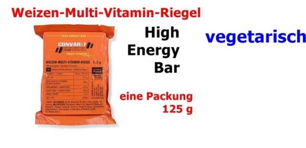 CONVAR-7 High Energy Bar - Multi Vitamin 125 g