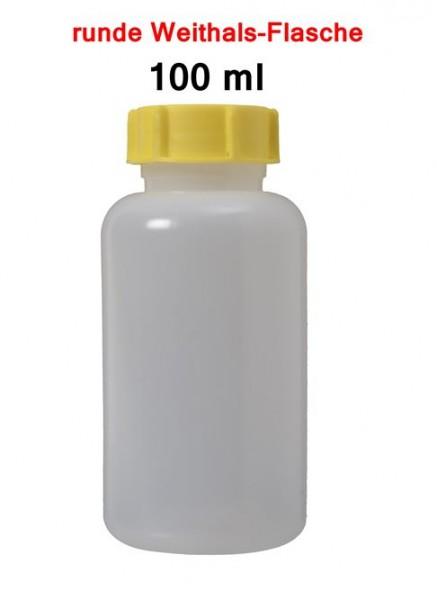 BasicNature Weithalsflasche rund 100 ml